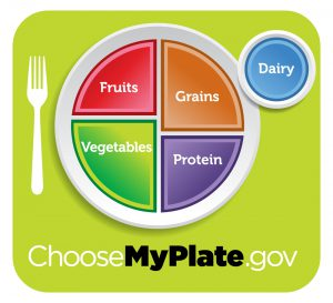 myplate comparison to plant based diet