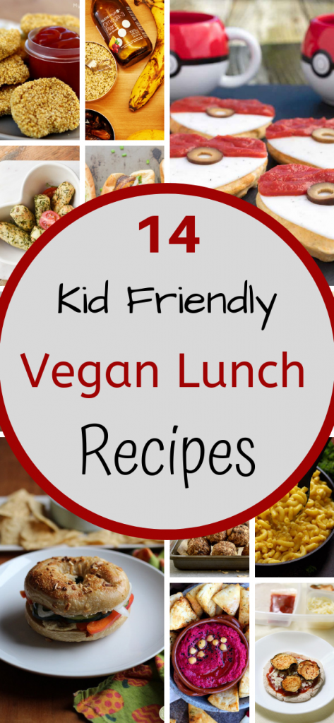 kid friendly vegan lunch recipes