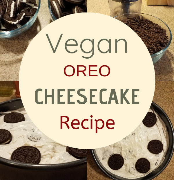 vegan oreo cheesecake recipe